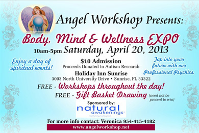 """Body, Mind and Wellness Expo - Healing circle Carole Ramsay, Psychic Healer Medium - GoddessTouch.net"""