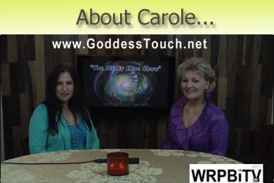 """""""Carole Ramsay, Psychic Medium, Healer - GoddessTouch.net on WRPBiTV"""""""