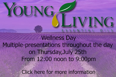 """young living Wellness day"""