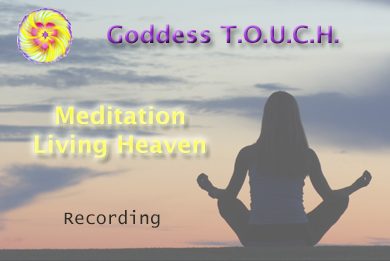 """Meditation Living Heaven - Garole Ramsay, Psychic Healer Medium"""