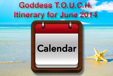 """Calendar Carole Ramsay, Psychic, Healer Medium - GoddessTouch.net"""