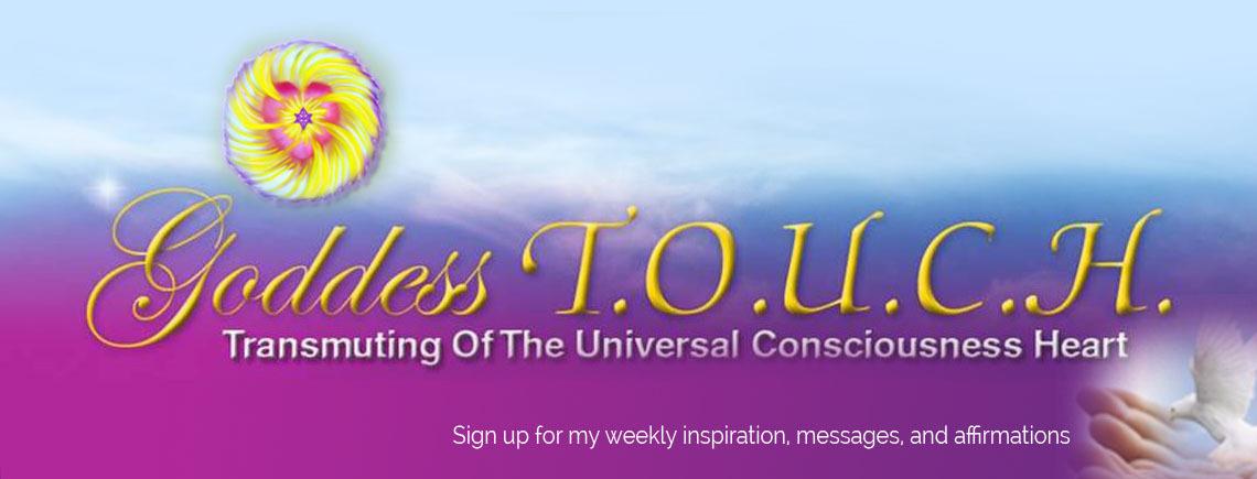 """Carole Ramsay - Psychic Healer Medium GoddessTouch.net - Weekly Inspiration"""