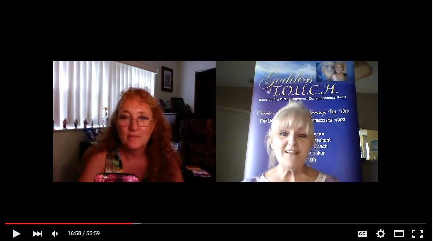 """EntreprenHer Show with Carole Ramsay - Psychic Healer Medium GoddessTouch.net"""